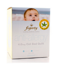 Little Fogarty Anti Allergy 4.0 Tog Cot Bed Quilt