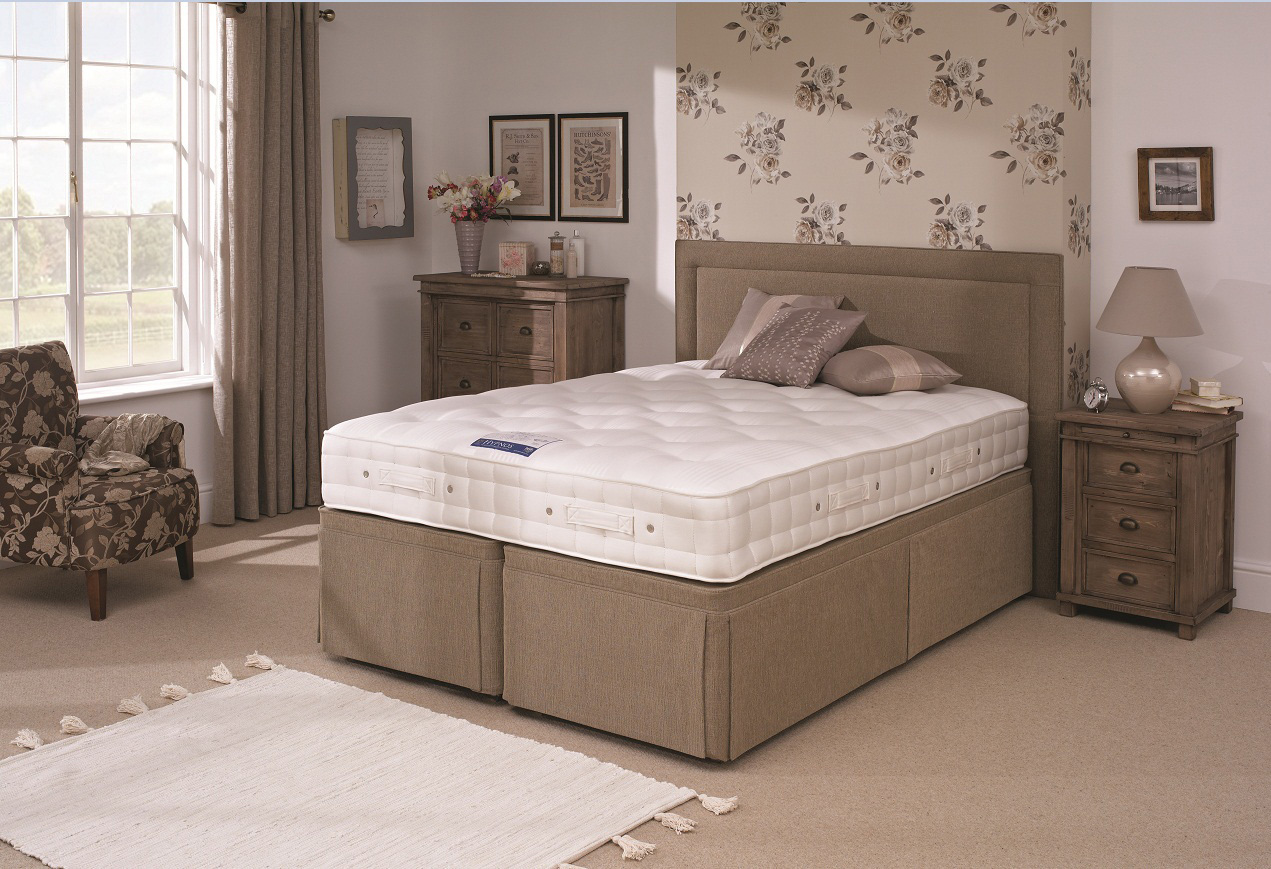 Hypnos orthocare 6 divan bed firm from for King divan bed sale