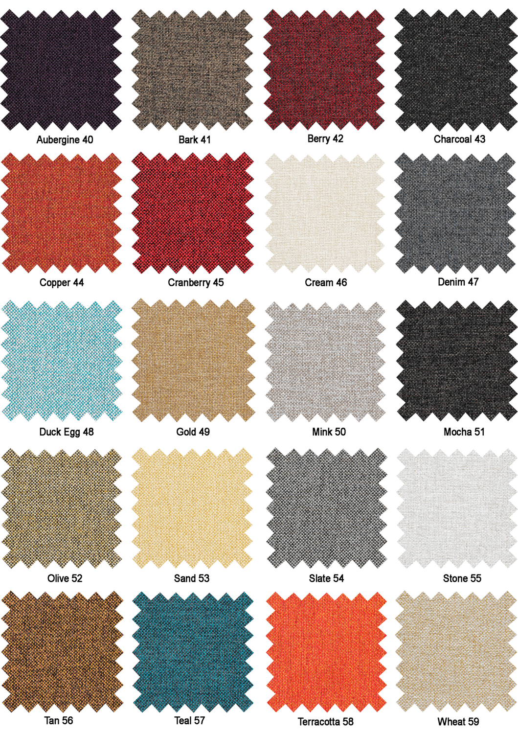 Jay-Be sofa bed fabric colour options