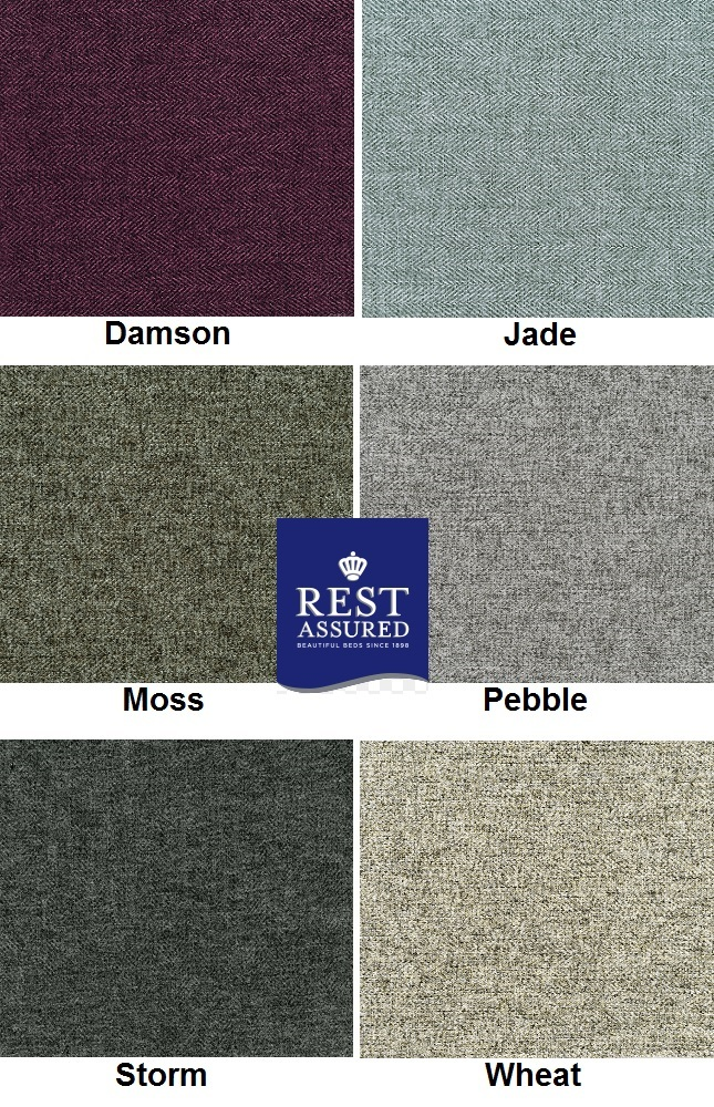Rest Assured British Wool Collection - upholstery colour options