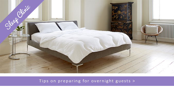 Tips on preparing for overnight Easter Guests