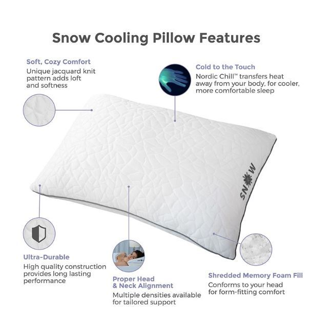 Protect a Bed Snow Nordic Chill features