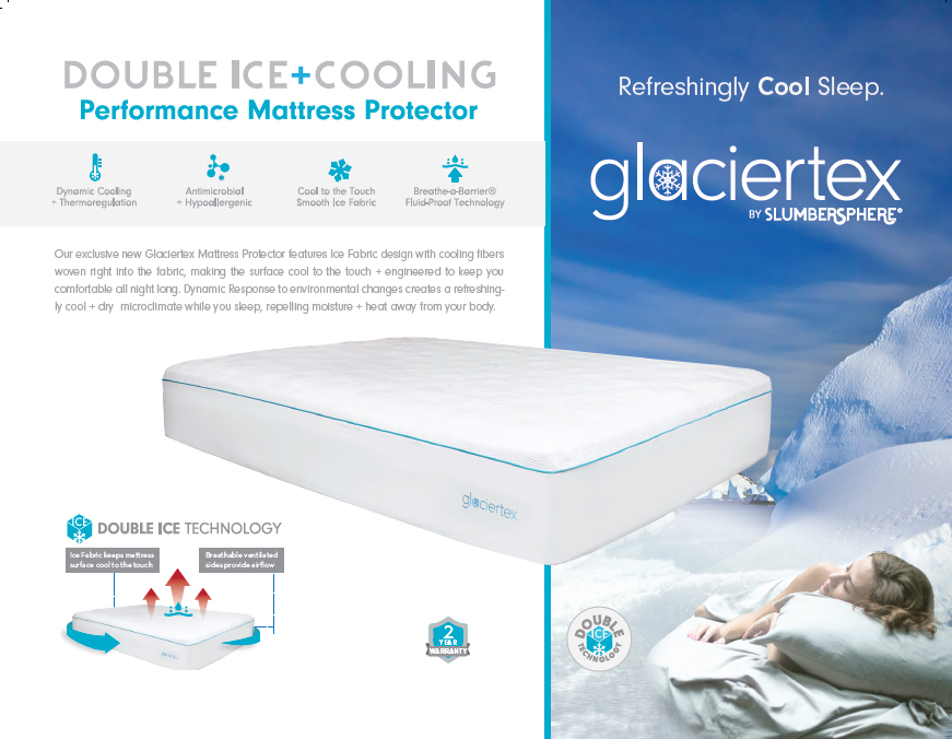 Glaciertex Double Ice + Cooling features
