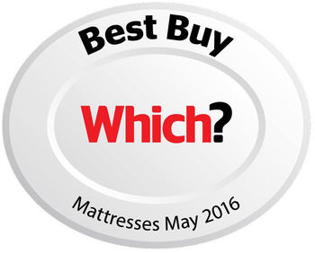 Which? Best Buy Award in 2016 for mattresses