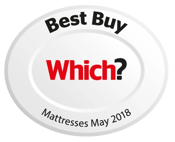 Which? Best Buy Award in 2018 for mattresses