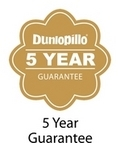 Dunlopillo Pillows offer 5 year guarantee