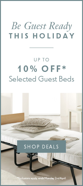 Be Guest Ready this Easter with 10% off selected guest beds & mattresses