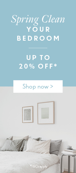 Spring Clean Your Bedroom | Up to 20% off