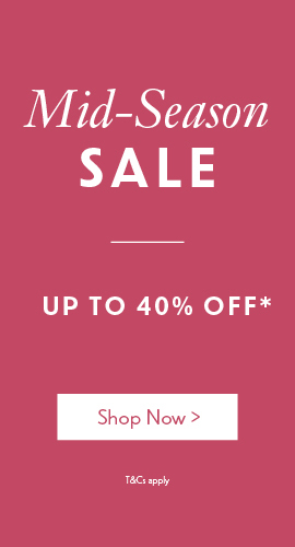 Mid-Season Sale Now On | Up to 40% off