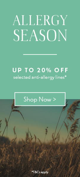 Allergy Season | Up to 20% off