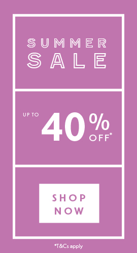 Summer Sale Now On | Up to 40% off