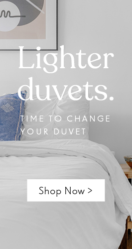 Time to change to a lighter duvet