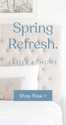 Spring refresh for your Easter at home