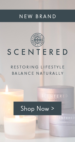 Scentered 100% natural aromatherapy balms & candles