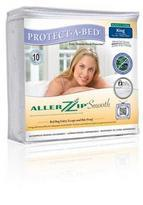 Protect a Bed AllerZip Waterproof Smooth Mattress Encasement