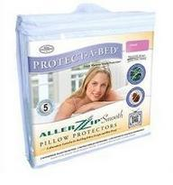 Protect a Bed AllerZip Waterproof Smooth Pillow Protectors