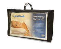 Healthbeds Latex Pillow Low Profile with Cooltex