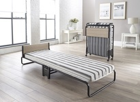 Jay-Be Revolution Folding Bed With Airflow Fibre Mattress Single