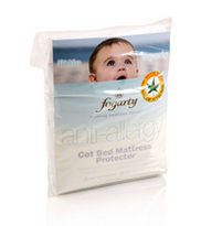Little Fogarty Anti Allergy Cot Bed Mattress Protector