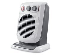DeLonghi 2.4kW Upright Fan Heater