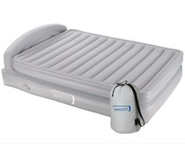 Aerobed King Comfort Classic Air Bed Raised With Headboard