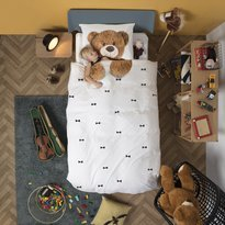 Snurk Teddy Duvet Cover & Pillowcase