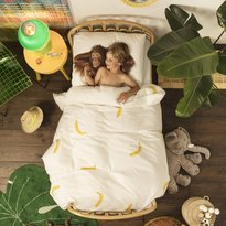 Snurk Banana Monkey Duvet Cover & Pillowcase