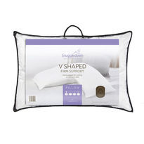 Snuggledown V Shaped Firm Support Pillow