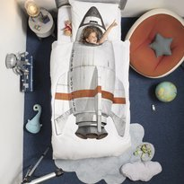 Snurk Rocket Duvet Cover & Pillowcase