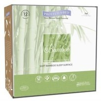 Protect A Bed Bamboo Terry Fitted Mattress Protector