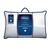 Silentnight Memory Foam Impress Deluxe Pillow Firm