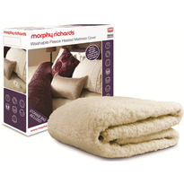 Morphy Richards Luxury Fleece Mattress Cover