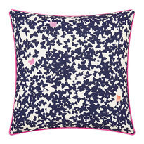 Joules Painted Poppy Cushion