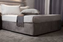 "Belledorm Divan Base Wrap 19"" Faux Suede"