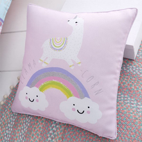 Catherine Lansfield Llama-Corn Cushion