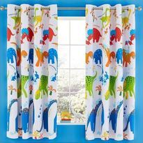 Catherine Lansfield Dino-Saw Blackout Curtains
