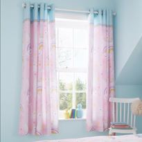 Catherine Lansfield Llama Corn Curtains