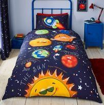 Catherine Lansfield Happy Space Duvet Set