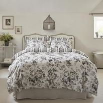 Cabbages & Roses Paris Rose Duvet Cover