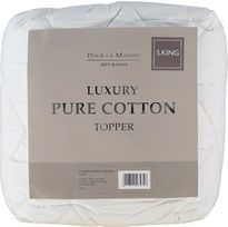 Jeff Banks Pour La Maison Luxury Pure Cotton Mattress Topper