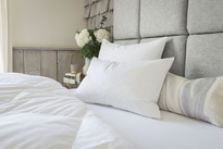 The Fine Bedding Co Goose Feather & Down Pillow