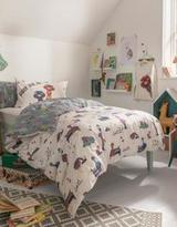 Fat Face Elsie Emu Reversible Single Bed Set