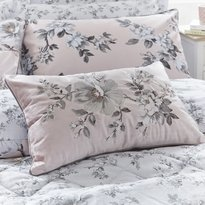 Dorma Isabelle Blush Pink Filled Cushion 30x50