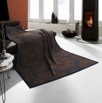 Biederlack Blanket Throw Autumnal Kaleidoscope