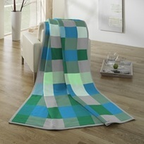 Biederlack Blanket Throw Patchwork Sevilla