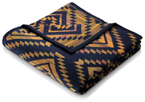Biederlack Throw Blanket Aztec Tribal
