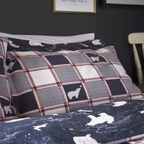 Fat Face Polar Bear Christmas Bedding Set