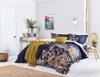 Joules Cambridge Floral French Navy Bedding Set Single