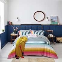 Joules Cambridge Stripe Duvet Cover Set