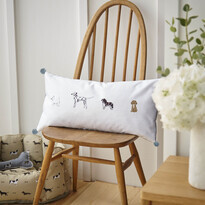 Sophie Allport Fetch Cushion 50x30cm